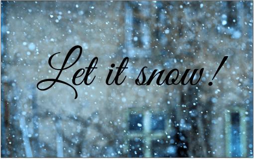 63 зимних подписи, чтобы отпраздновать холодное время года