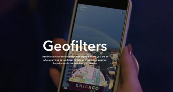 Как использовать геофильтры с Snapchat