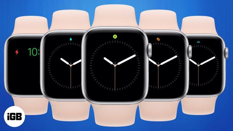 Все значки и значения символов Apple Watch (полное руководство)