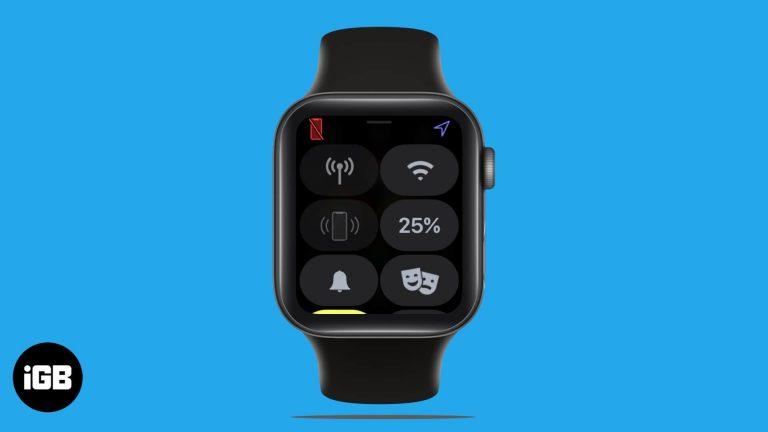 Apple Watch не соединяются с iPhone?  Как это исправить
