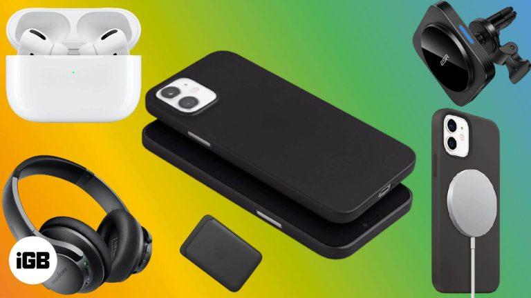 Лучшие аксессуары для iPhone 12 и 12 Pro в 2020 году