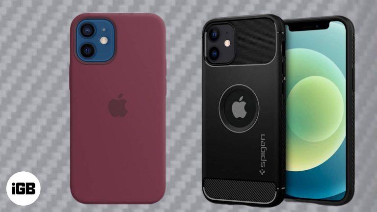 Лучшие мини-чехлы для iPhone 12 2020 года