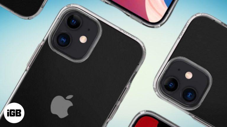 Лучшие прозрачные мини-чехлы для iPhone 12 в 2020 году