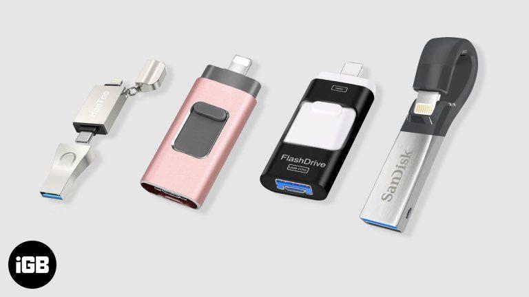 Лучшие флешки для iPhone в 2020 году