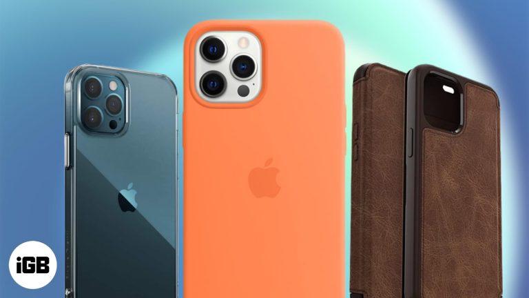 Лучшие чехлы для iPhone 12 Pro Max 2020 года
