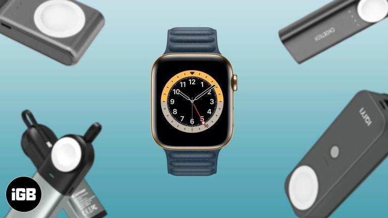 Лучшие аккумуляторы для Apple Watch в 2020 году