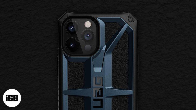 Лучшие прочные чехлы для iPhone 12 Pro Max в 2020 году