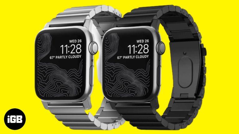 Лучшие ремешки из нержавеющей стали для Apple Watch 6, SE, 5, 4 и 3 в 2020 году