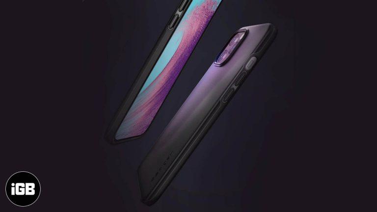 Лучшие тонкие чехлы для iPhone 12 и 12 Pro в 2020 году