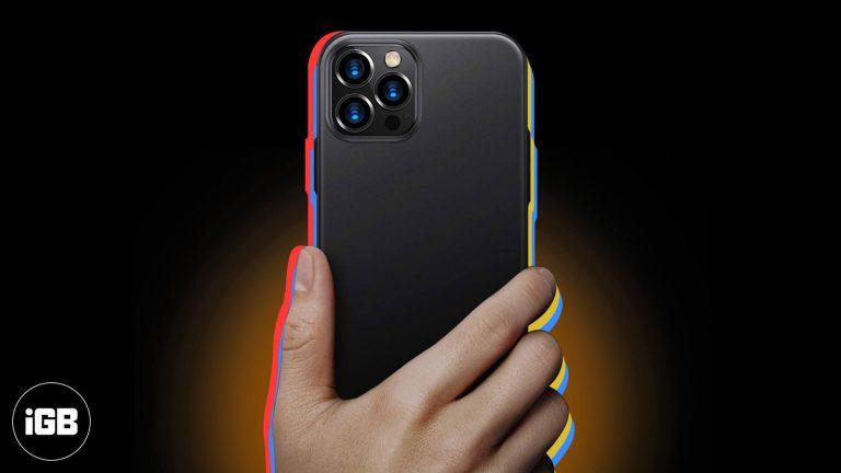 Лучшие тонкие чехлы для iPhone 12 Pro Max в 2020 году
