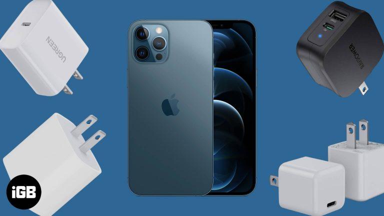 Лучшие адаптеры питания USB-C для iPhone 12 Pro и 12 Pro Max в 2020 году