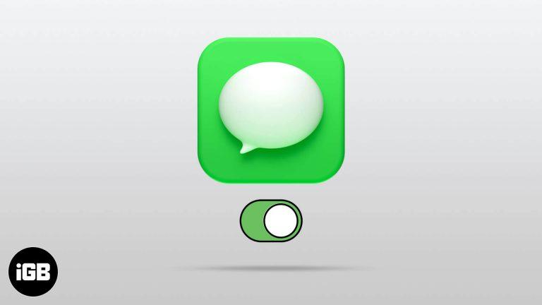 Как активировать iMessage на iPhone и iPad [Setup Guide]