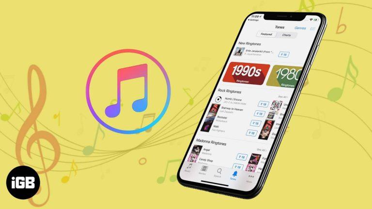 Как купить рингтоны на iPhone и iPad