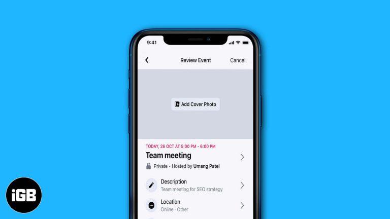 Как создать событие в Facebook на iPhone и iPad [2020]
