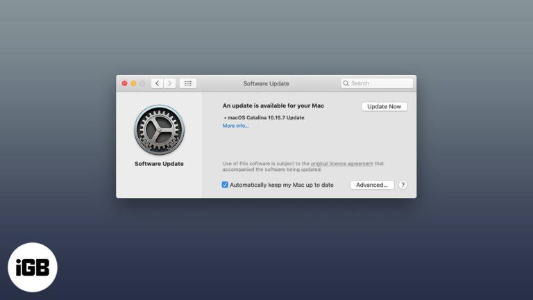 Как отключить автообновление на Mac за 3 простых шага