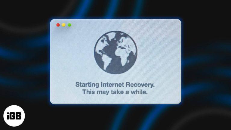Как запустить Mac в режиме восстановления через Интернет