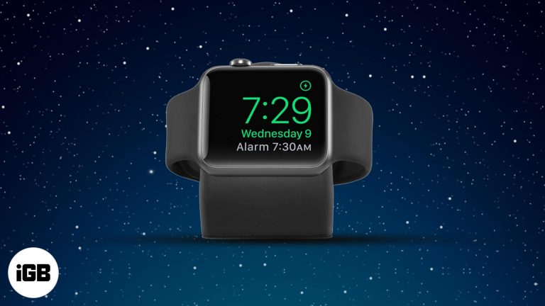 Как использовать режим тумбочки на Apple Watch