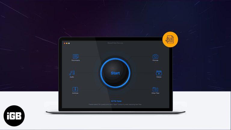 iBeesoft Data Recovery для Mac: подробный обзор