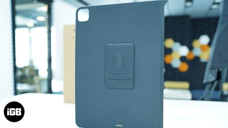 Обзор: чехол Pitaka MagEZ для iPad Air и iPad Pro 2020 года