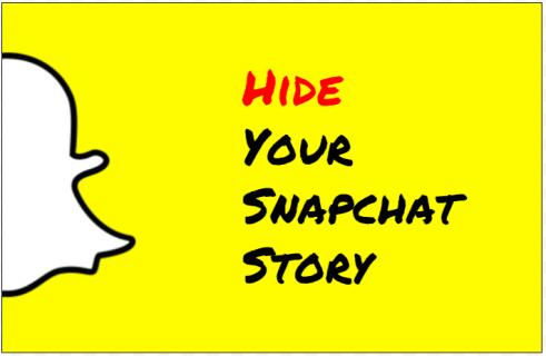 Как скрыть свою историю в Snapchat