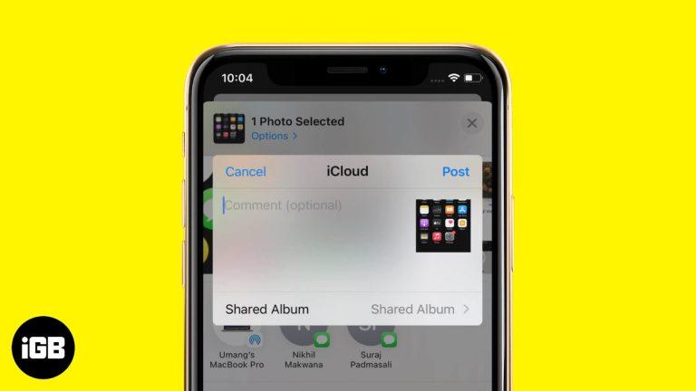 Как использовать общие альбомы на iPhone и iPad в iOS 14