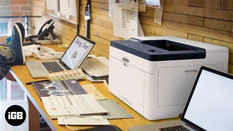 Лучшие лазерные принтеры для Mac [2020 Updated]