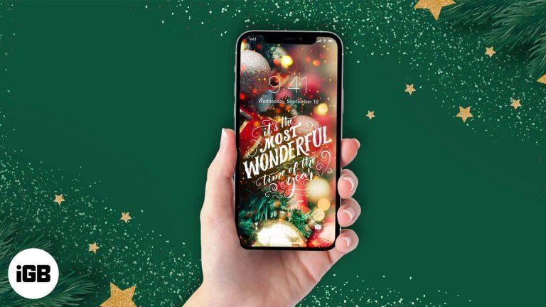 Лучшие новогодние обои для iPhone и iPad [2020 Edition]
