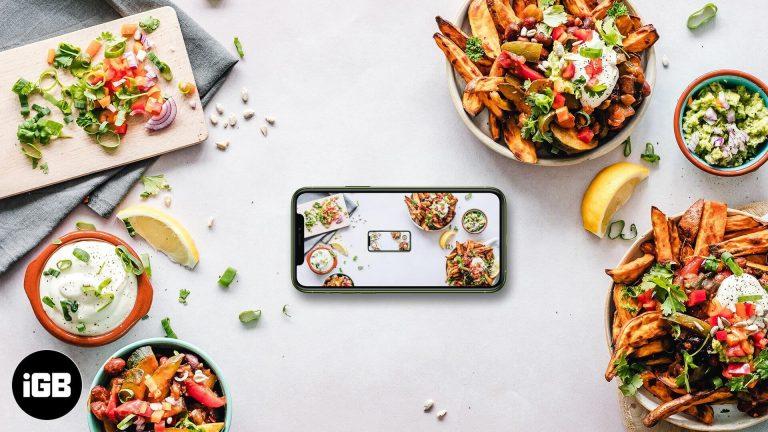 Лучшие приложения для фотографии еды для iPhone и iPad в 2020 году