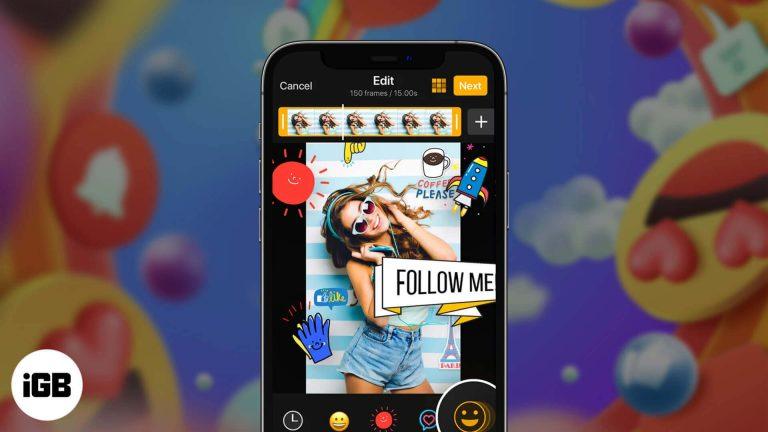 Лучшие приложения для создания GIF-изображений для iPhone и iPad в 2020 году
