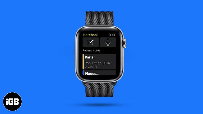Лучшие приложения Notes для Apple Watch в 2020 году