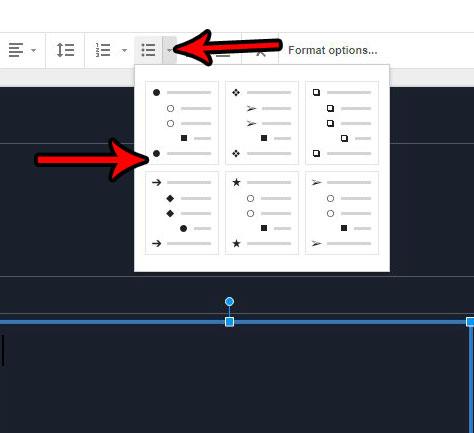 Как добавить маркеры в Google Slides