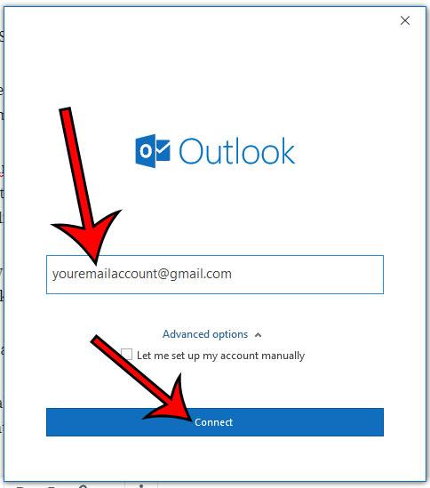 Как добавить учетную запись Gmail в Outlook для Office 365