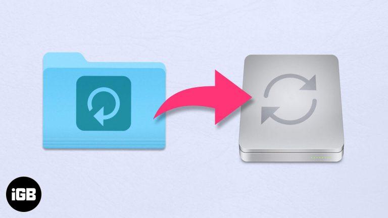Как изменить расположение резервной копии iPhone на Mac и Windows?
