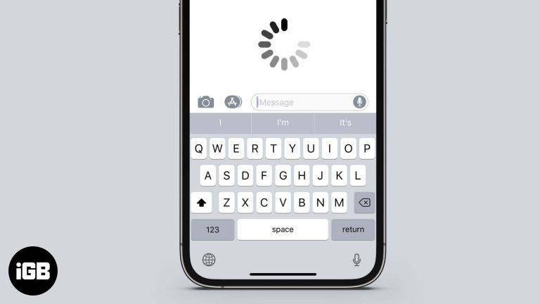 6 способов исправить задержку клавиатуры на iPhone и iPad в iOS 14