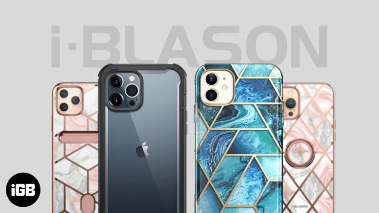 Лучший ассортимент чехлов i-Blason для iPhone 12 серии [Review]
