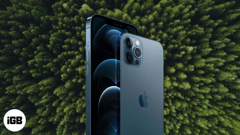 IPhone 12 не нанесет вреда окружающей среде.  Вот почему