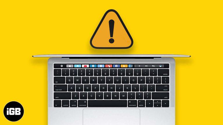Клавиатура Mac не работает?  Попробуйте эти исправления (которые действительно работают)