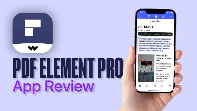 Обзор приложения PDFelement Pro: идеальный редактор PDF для iPhone и iPad