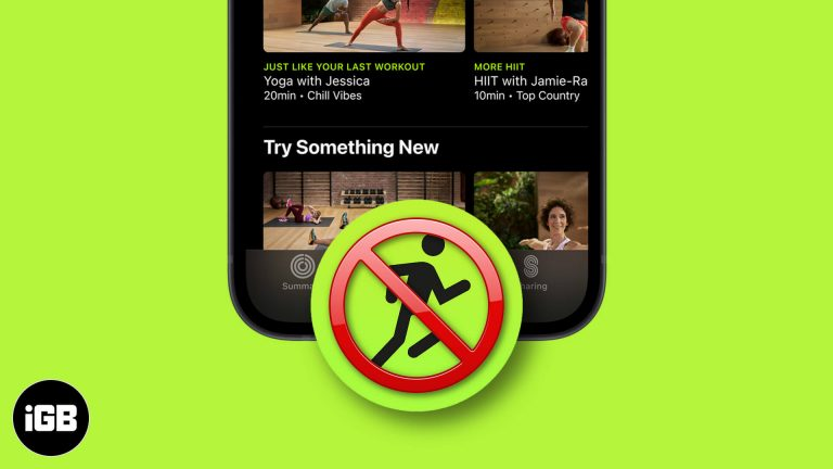 Советы по исправлению того, что Apple Fitness + не отображается на iPhone, iPad или Apple Watch