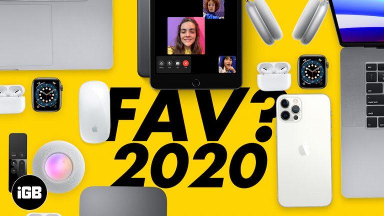 Продукты Apple с 2020 года |  Отзыв от iGeeksBlog