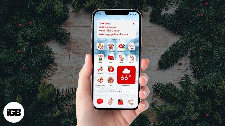 Лучшие рождественские иконки приложений iOS 14 для iPhone (2020)
