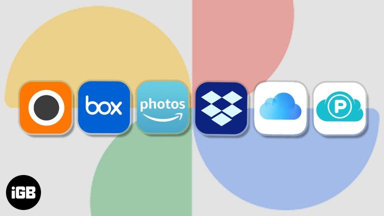 Лучшие альтернативы Google Фото для iPhone и iPad (2020)