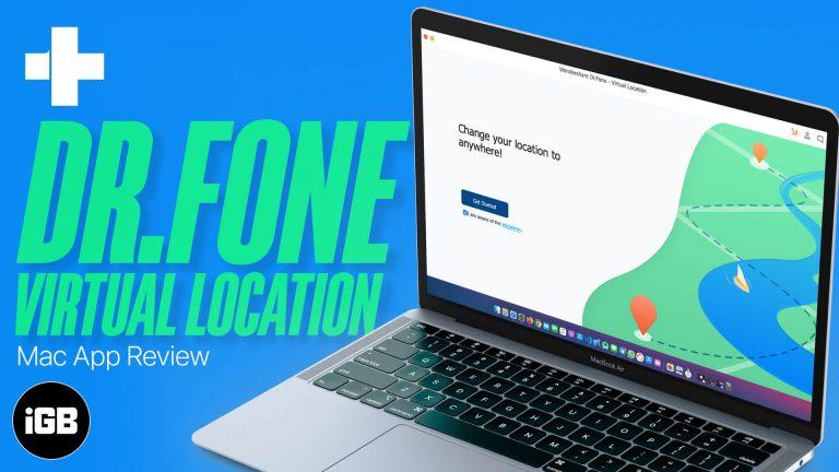 Dr.Fone — Виртуальное местоположение: мудрое решение для фиксации местоположения GPS на iPhone
