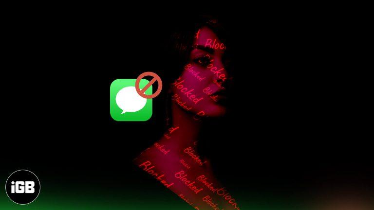 Как узнать, заблокировал ли вас кто-то в iMessage (хитрости на 2021 год)