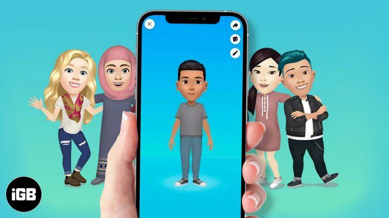 Как сделать аватар Facebook на iPhone (пошаговое руководство)