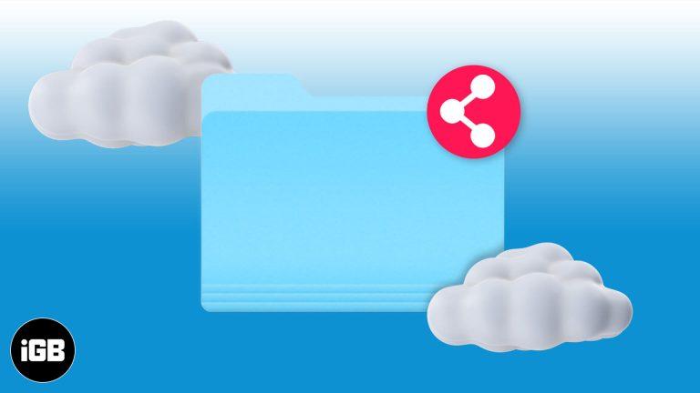 Как поделиться папками iCloud Drive с iPhone и iPad