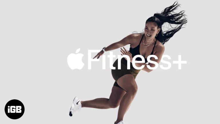 Как зарегистрироваться в Apple Fitness + (пошаговое руководство)