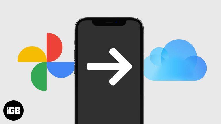 Как перенести Google Фото в Фото iCloud