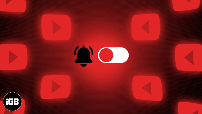 Как включить или отключить уведомления YouTube на iPhone и iPad