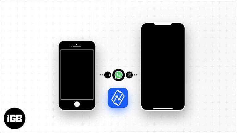 Перенос сообщений и контактов WhatsApp на новый iPhone с помощью PhoneTrans